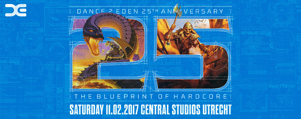 Dance 2 Eden 25th anniversary - The Blueprint of Hardcore