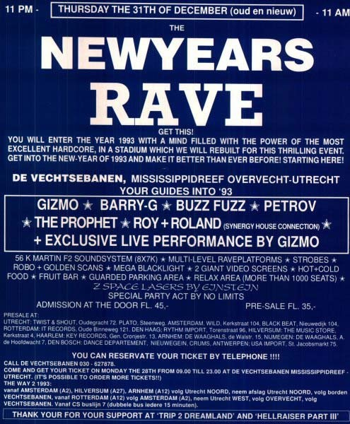 New Years Rave