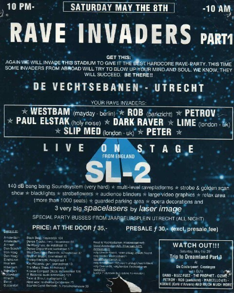 Rave Invaders