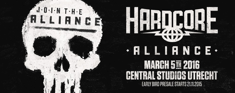 Angerfist op Hardcore Alliance