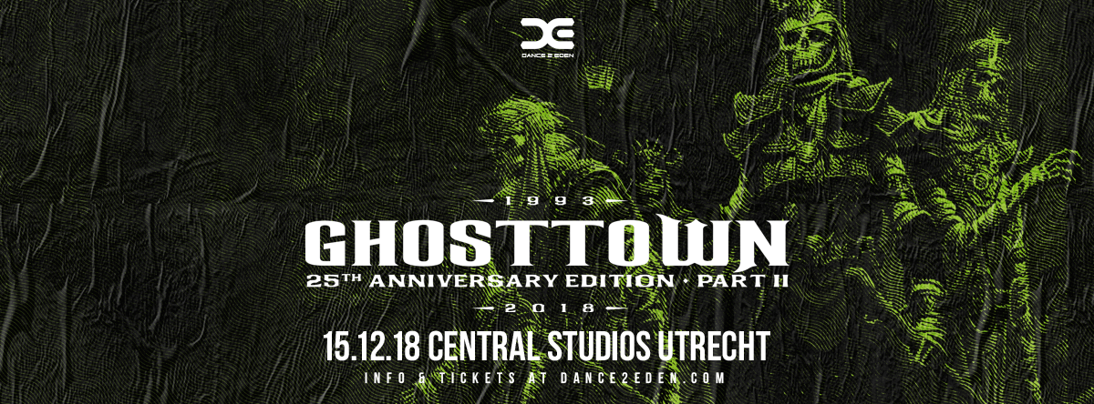 Ghosttown 25th Anniversary Edition - Part II : All you need to know + timetable