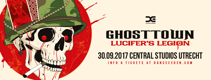 Line-up release en start presale Ghosttown 2017 – Lucifer's Legion